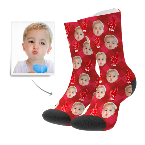 Custom Socks - #1 Son