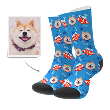 Custom Dog Dad Socks With Your Text - MyFaceSocks