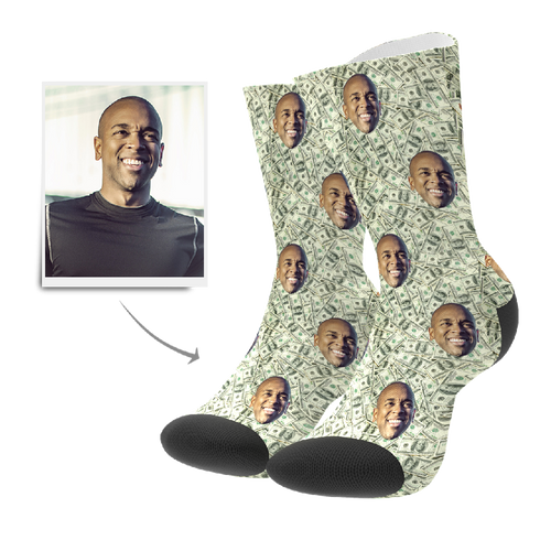 Custom Socks - Money