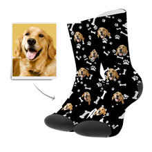 Custom Socks 3D Preview - Dog