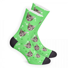 Custom Socks 3D Preview - Cat