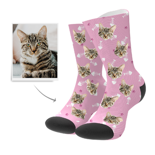 Custom Socks - Cat