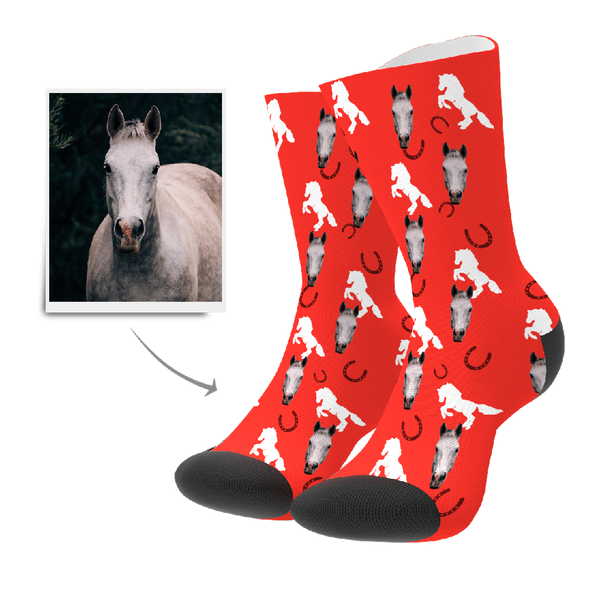 Custom Socks - Horse