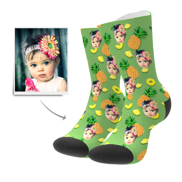 Custom Socks - Pineapple