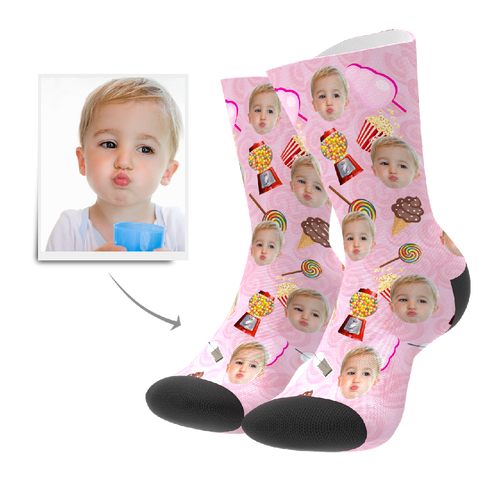Custom Socks - Candy