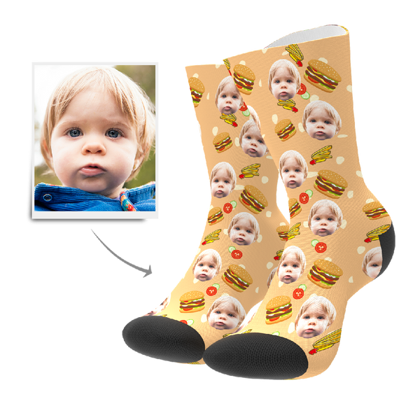 Custom Socks - Burger