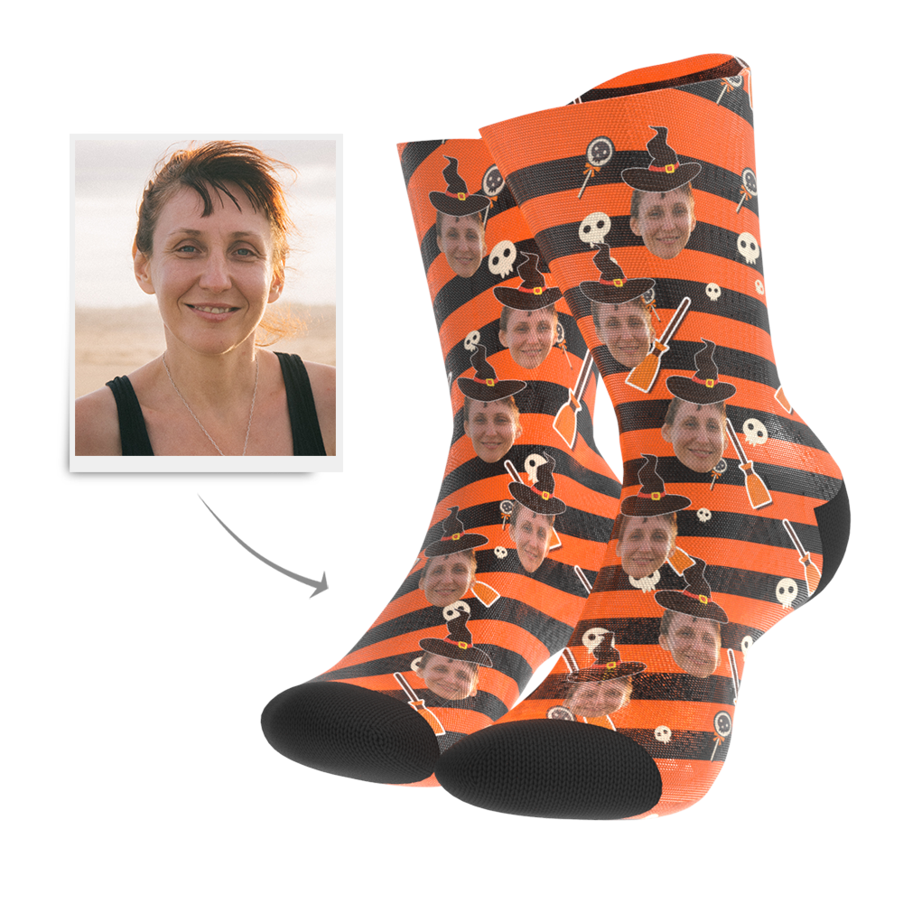 Halloween Socks - Custom Hat