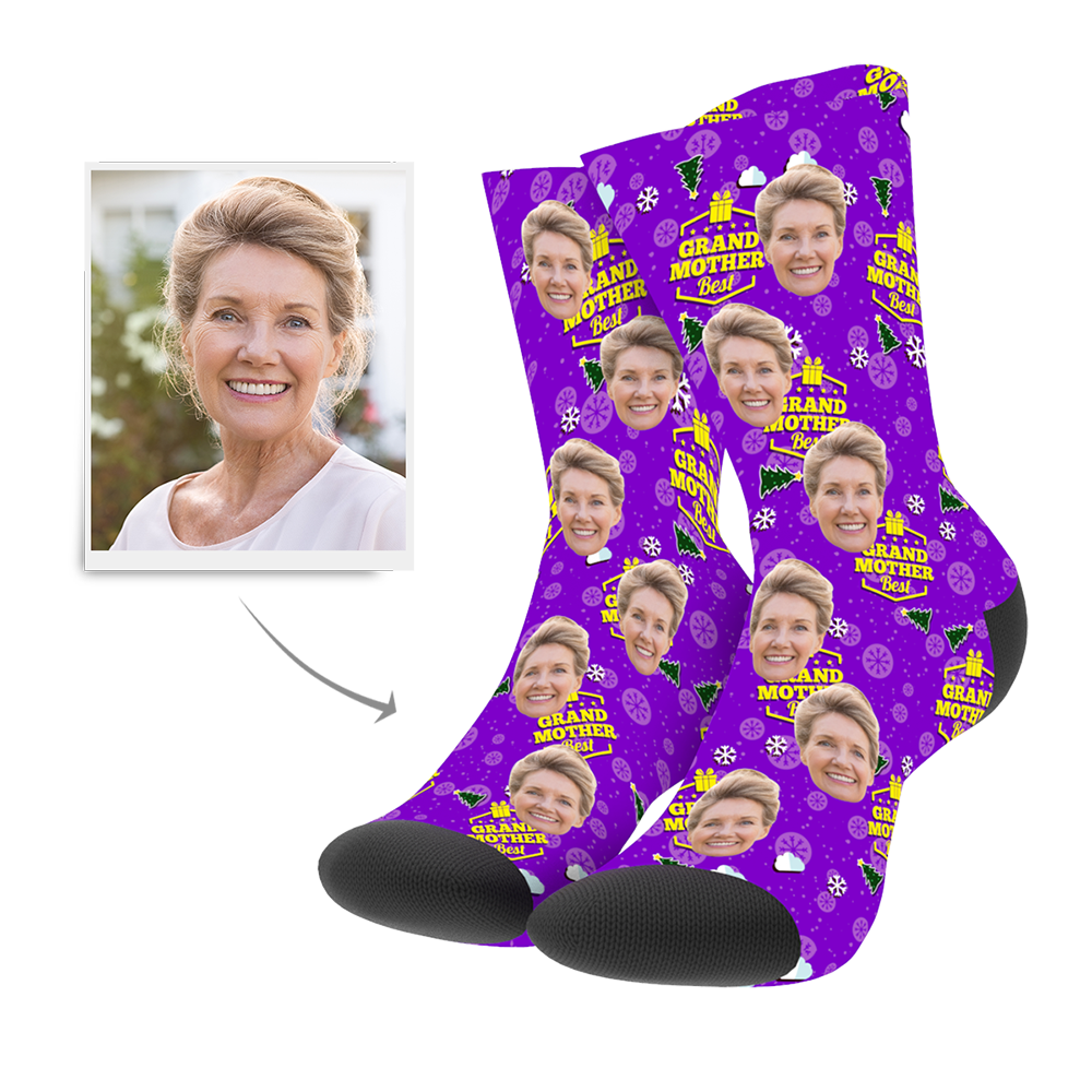 Custom Socks - Grand Mother