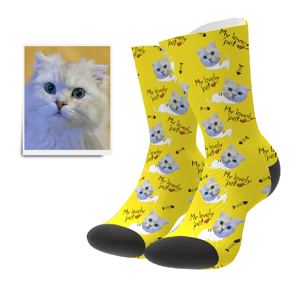 Custom Socks - Lovely Pet