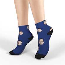 Custom Face Socks Short Socks, Colorful Photo Socks Summer Socks