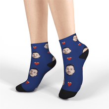 Custom Short Socks - Heart