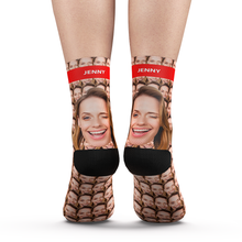 Custom Your Face Mash Socks Add Pictures And Name