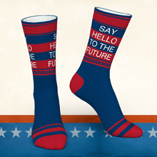 Colorful Socks Worn by Kamala Harris-The Future is Female