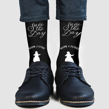 Custom Socks Custom Date Socks Save the Day Become A Father