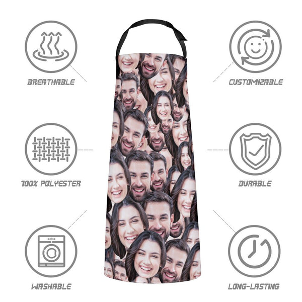 Custom Face Mash Apron