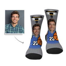 Custom Face Socks-Basketball Player