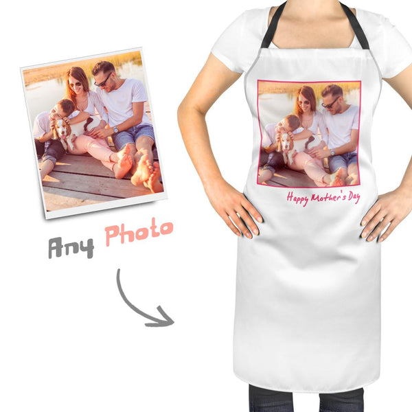 Custom Photo Kitchen Personalized Apron - MyFaceSocks