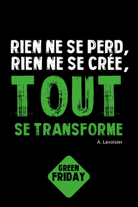 Green Friday Face au Black Friday, l'alternative s'organise !