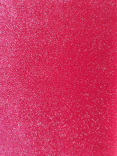 Load image into Gallery viewer, Red Glitter Stretch Velvet