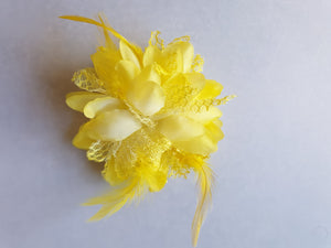 Flower hairclip - In Stock