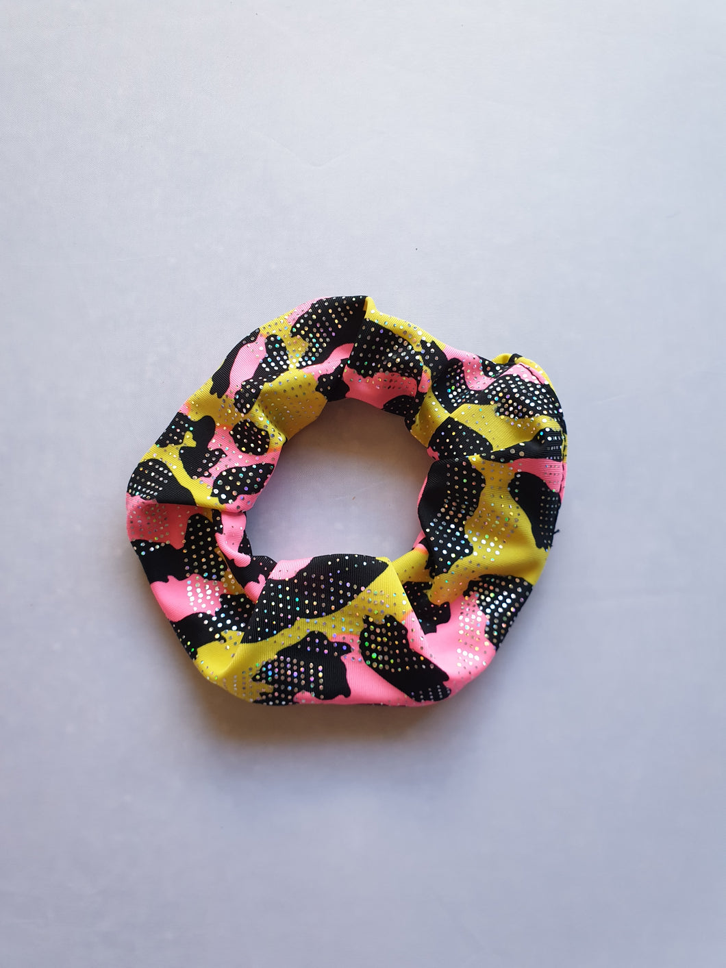 Yellow Scrunchie - In Stock