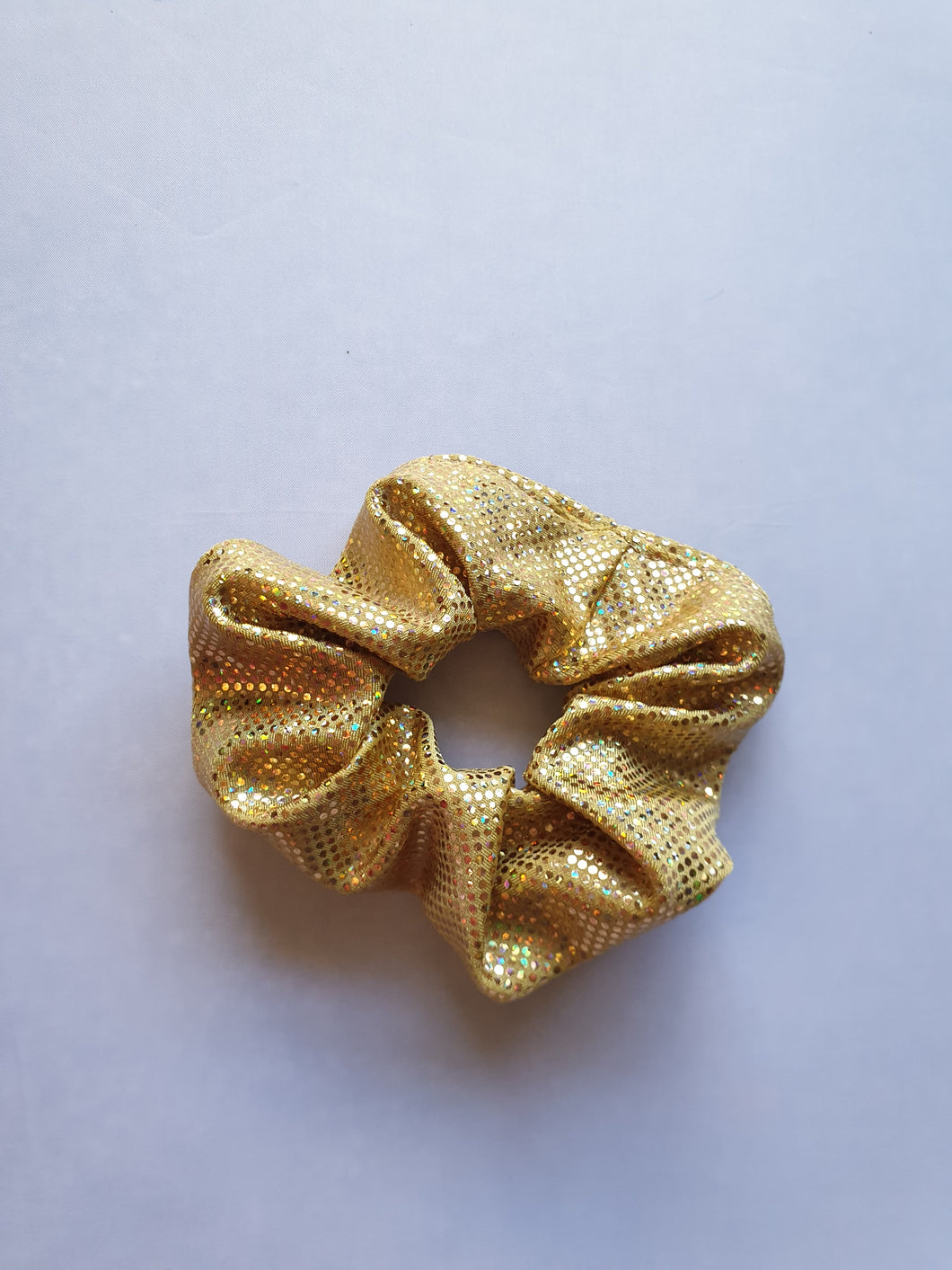 Gold Scrunchie - In Stock