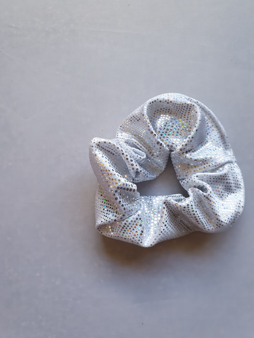 Silver Scrunchie - In Stock