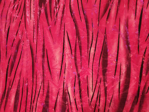 Fuscia black sparkly striped print Lycra