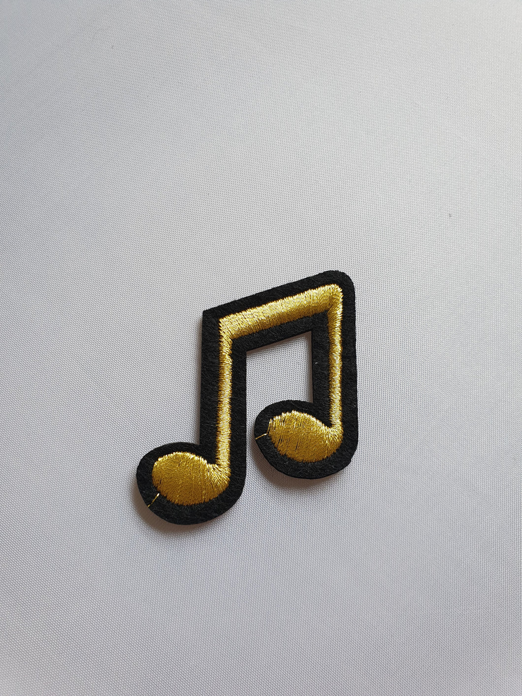 Black & gold music motif - In Stock