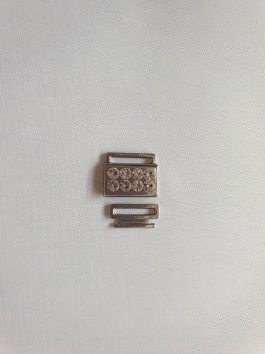 Small silver fastener - In Stock