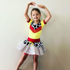 Girls size 4- Cowgirl Dance Costume - In Stock