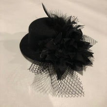 Load image into Gallery viewer, Accessories - Black Mini Top Hat - In Stock