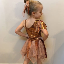 Load image into Gallery viewer, Girls size 6 - Copper Contemporary Dress - In Stock