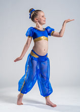 Load image into Gallery viewer, Girls size 6 - Genie Two Piece Dance Costume - In Stock
