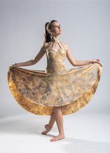 Load image into Gallery viewer, Gold Dance Dress - In Stock - Multiple Sizes