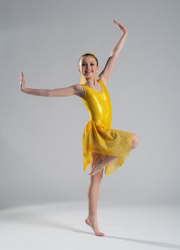 Yellow Budget Lyrical Dress - Multiple Sizes In Stock