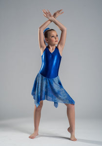 Royal Blue Budget Lyrical Dress - Multiple Sizes In Stock