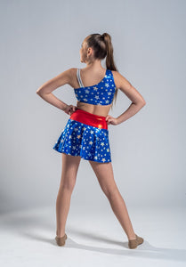 Budget Range Super Hero Top and Skirt