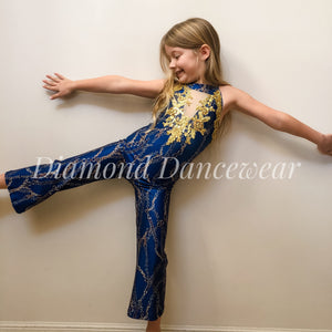 Girls Size 8 - Leotard with matching Pants - In Stock