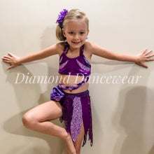 Load image into Gallery viewer, Girls Size 6 - Two Piece Dance Costume - In Stock