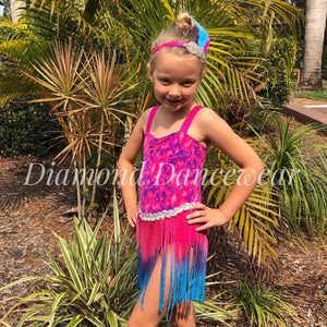 Girls Size 8 - Jazz or Tap Costume - In Stock
