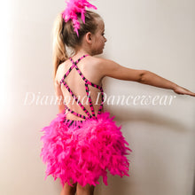 Load image into Gallery viewer, Girls Size 8 - Pink, Black and Silver Broadway Jazz - In Stock