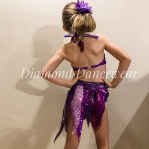 Girls Size 6 - Two Piece Dance Costume - In Stock