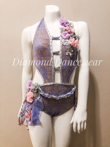 Girls 10 - Pastel Lyrical Dance Costume - In Stock