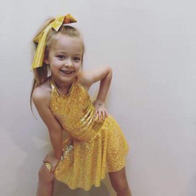 You Are My Sunshine Jazz Costume - Girls 6 In Stock