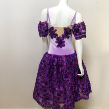 Load image into Gallery viewer, Adult Size 8 - Stunning Lilac and Purple Romantic Tutu - In Stock