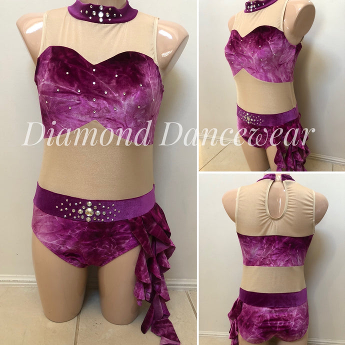 Adults 12 -  Lyrical Dance Costume - In Stock