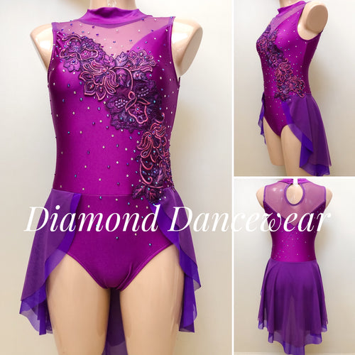 Adult 8 - Beautiful Lyrical Dance Costume - In Stock