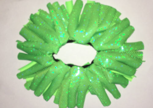 Green Cheer Scrunchie - In Stock