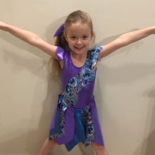 Load image into Gallery viewer, Girls Size 6 - Purple Intergalactic Dance Dress- In Stock